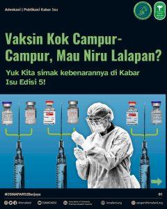 vaksin campur dosis